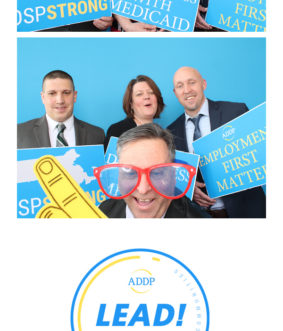 photo strip from conference