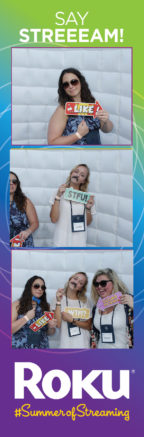 Photo strip from Roku Holiday party