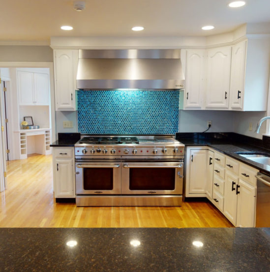Photo of kitchen from virtual tour in Quincy, MA